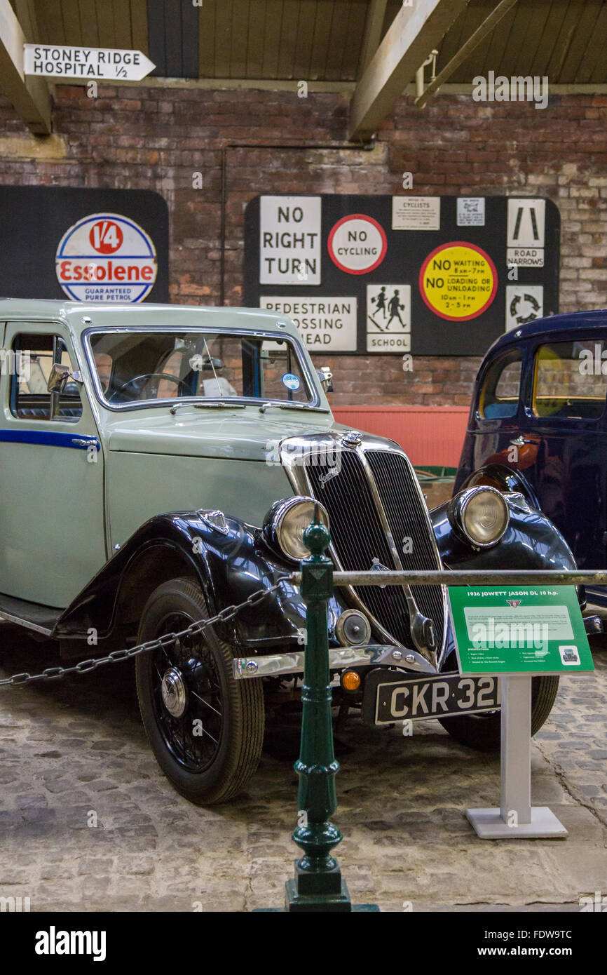 8b07012aa325a5 Jowett Cars and other Vehicles on display at Bradford Industrial Museum