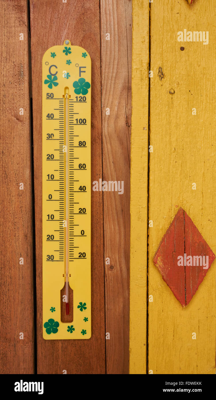 Old Wall Thermometer Stock Photos & Old Wall Thermometer Stock ...
