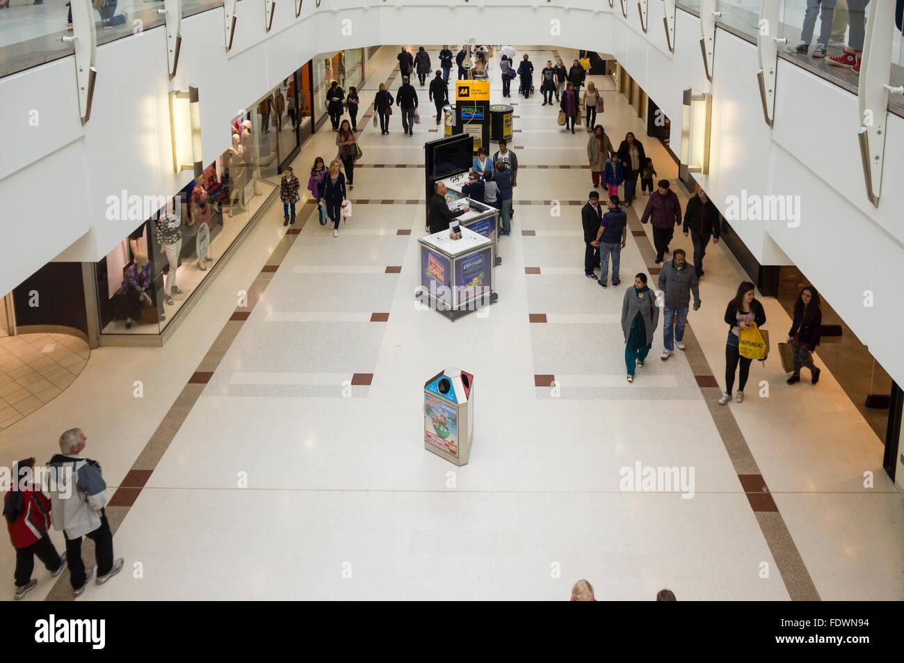 Braehead Shopping Centre, Scotland, UK  Model Release: No.  Property Release: No. - Stock Image