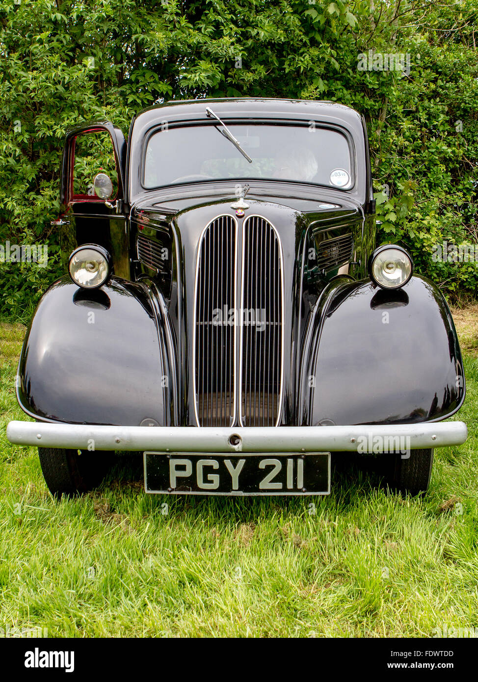 Ford Popular on display at the 2014 Culcheth Community Day - Stock Image