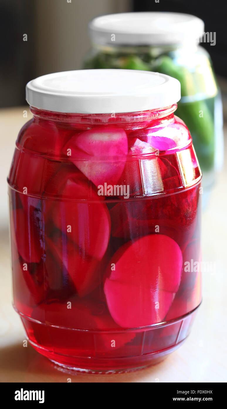 Lebanese Pickles - Stock Image