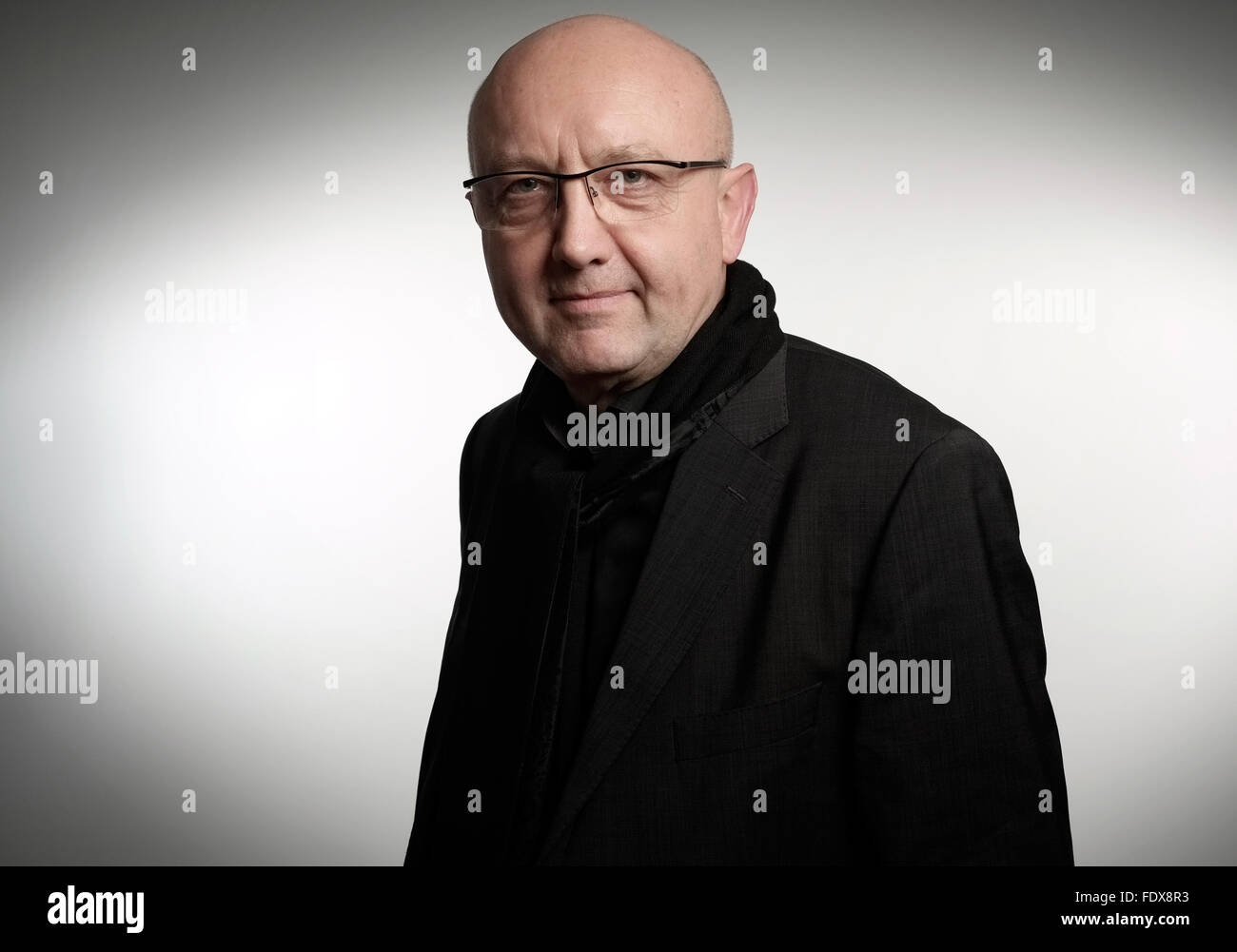 Berlin, Germany, Prof. Ulrich Weinberg posing for a photo in Berlin Stock Photo