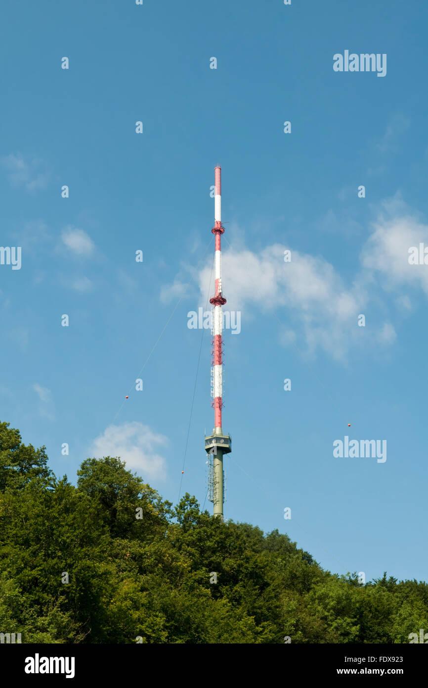 Radio Tower Mast Stock Photos & Radio Tower Mast Stock