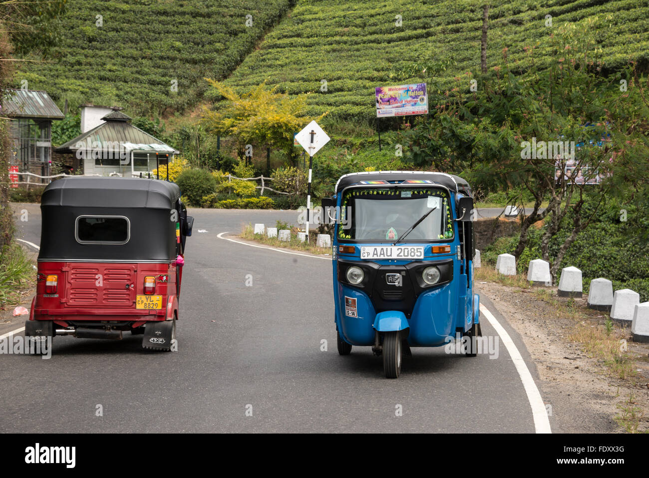 Tuk tuks or three wheelers as they are called in sri lanka provide a