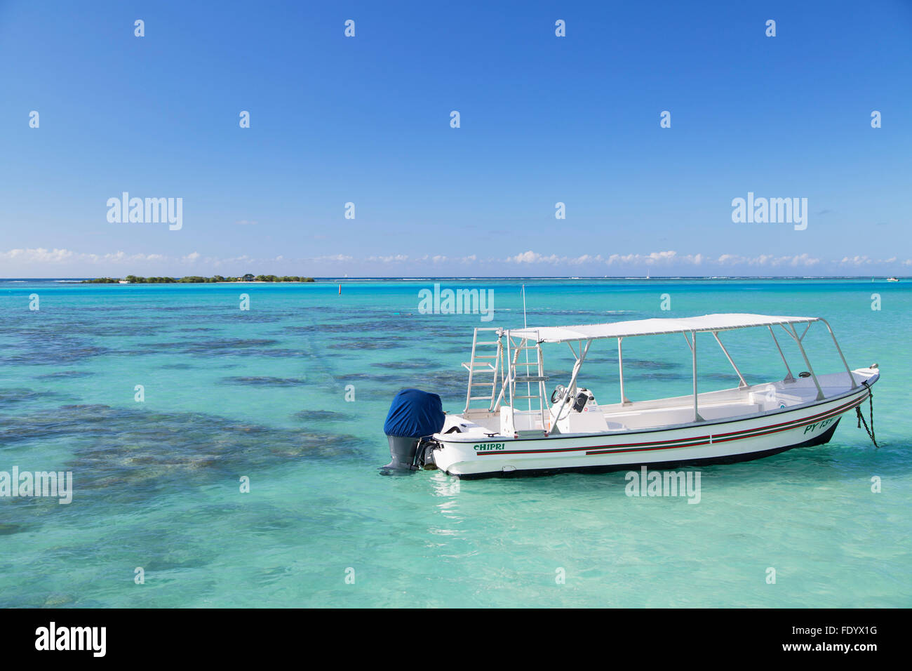 Hauru Point, Mo'orea, Society Islands, French Polynesia - Stock Image