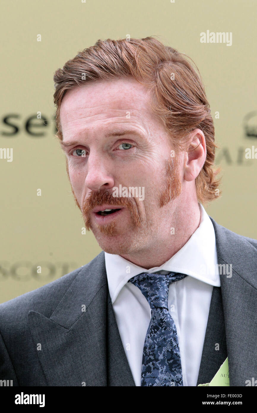 Ascot, United Kingdom, Damian Lewis, actor Stock Photo