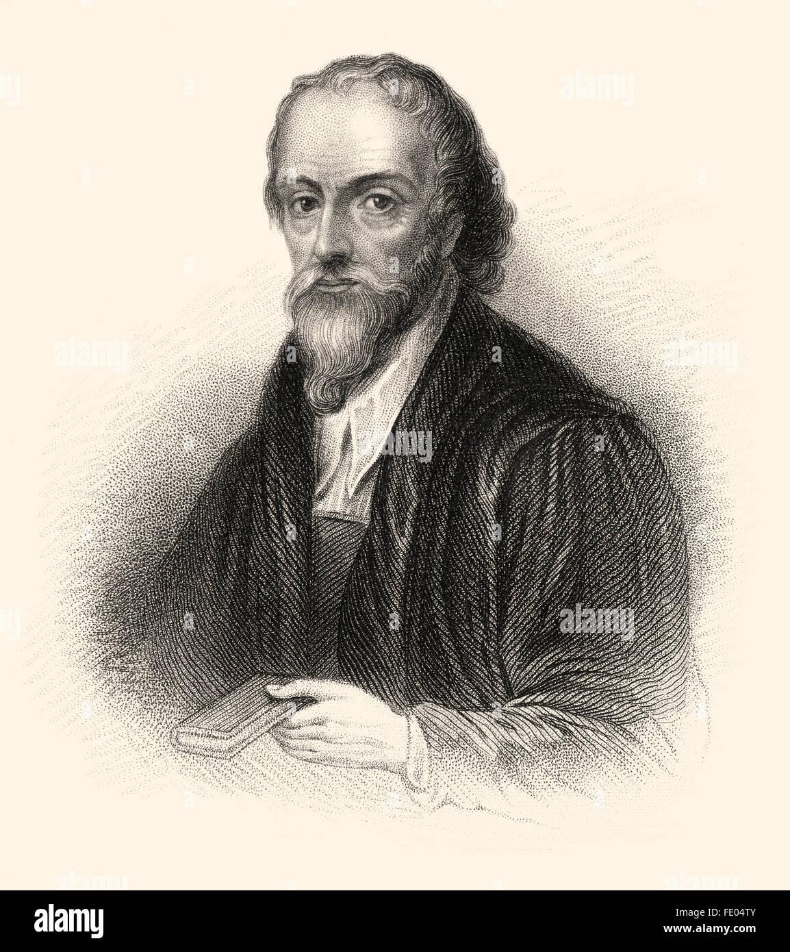 Nicholas Ridley, c.1500-1555, an English Bishop of London - Stock Image