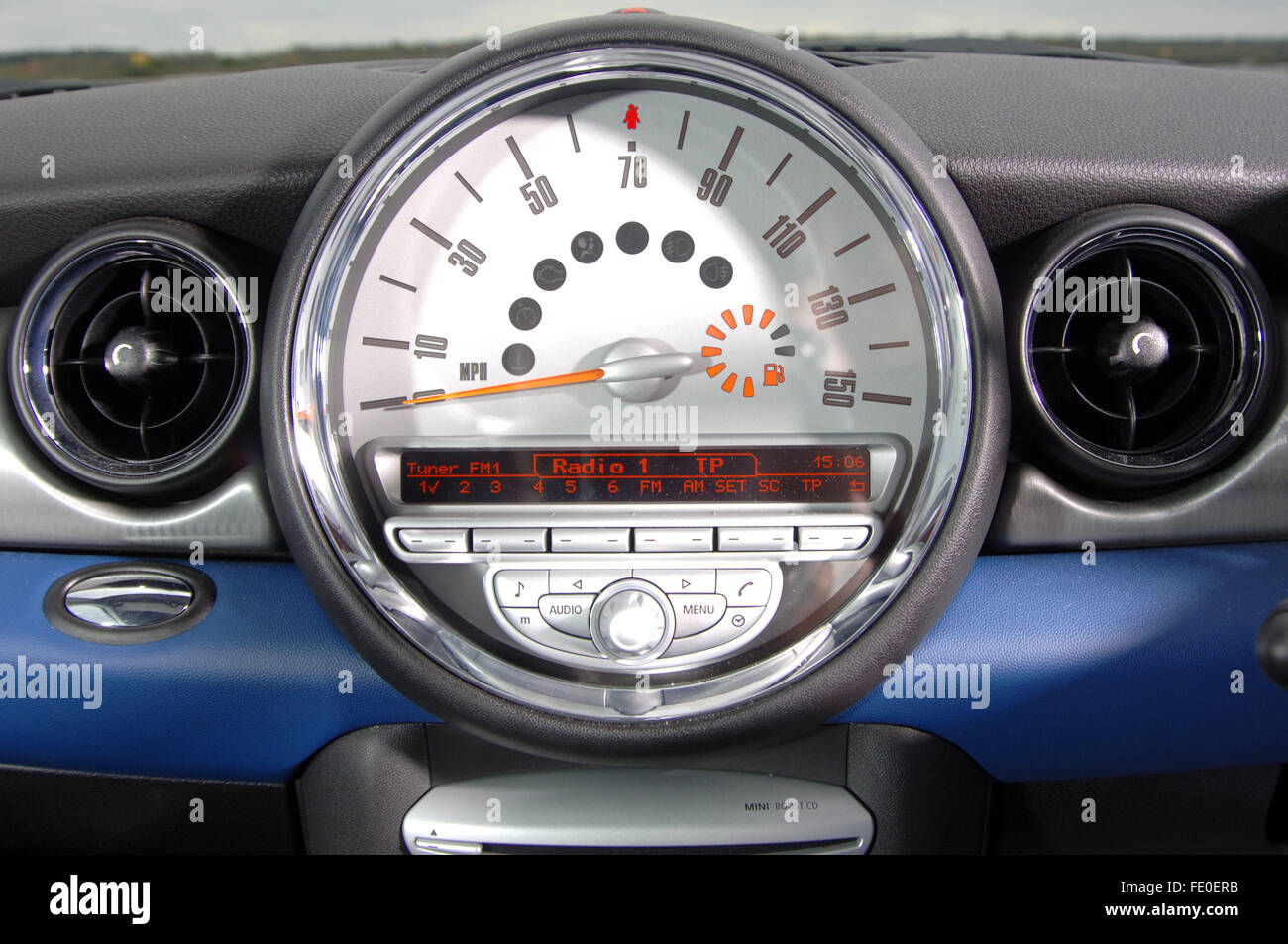 speedometer mini high resolution stock photography and images - alamy  alamy