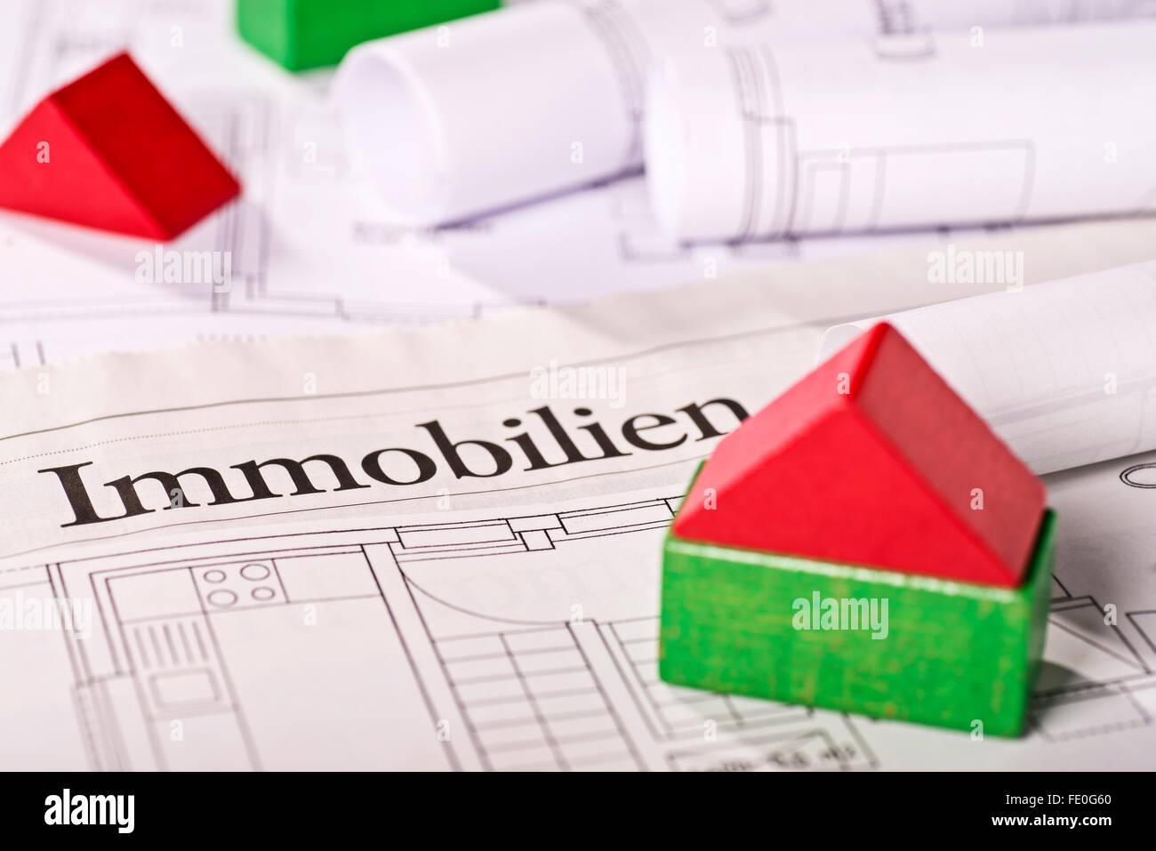 Real estate offer - Stock Image