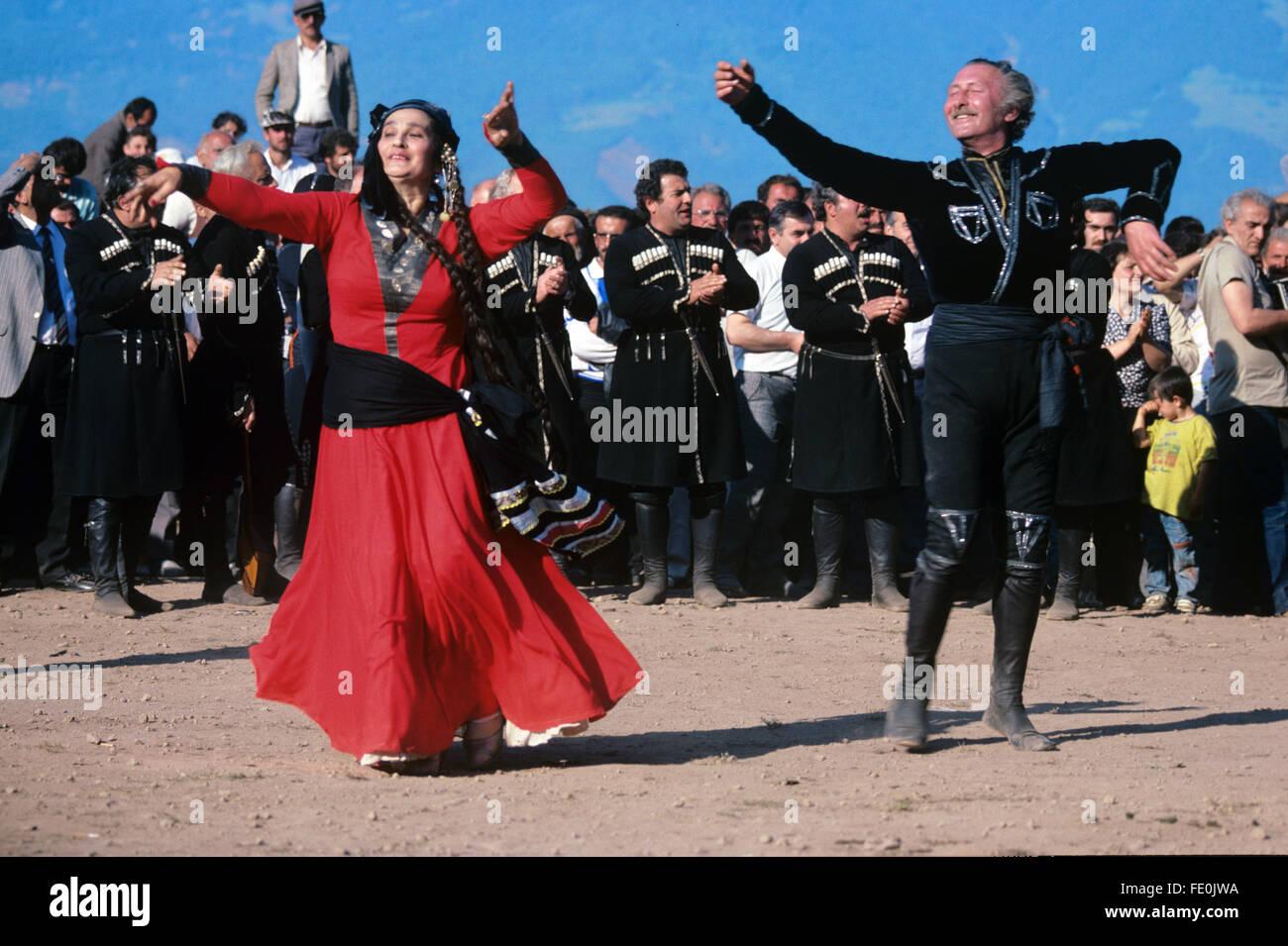 Georgian Souvenirs Stock Photos Georgian Souvenirs Stock: Georgian Folk Dancers Or Georgians In Traditional Georgian