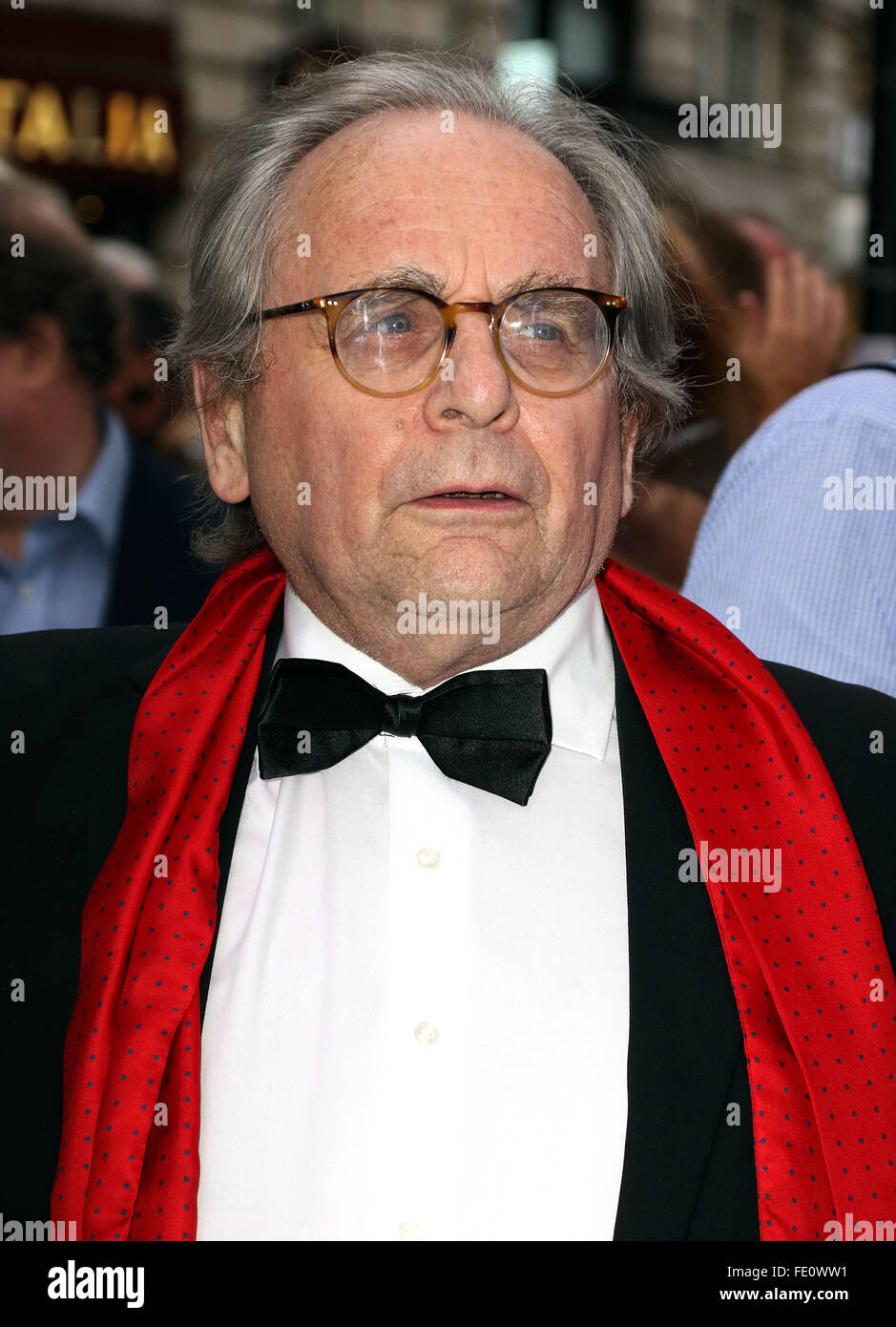 Jul 20, 2015 - London, England, UK - Sylvester McCoy attending Frank Sinatra: The Man and His Music Press Night, - Stock Image