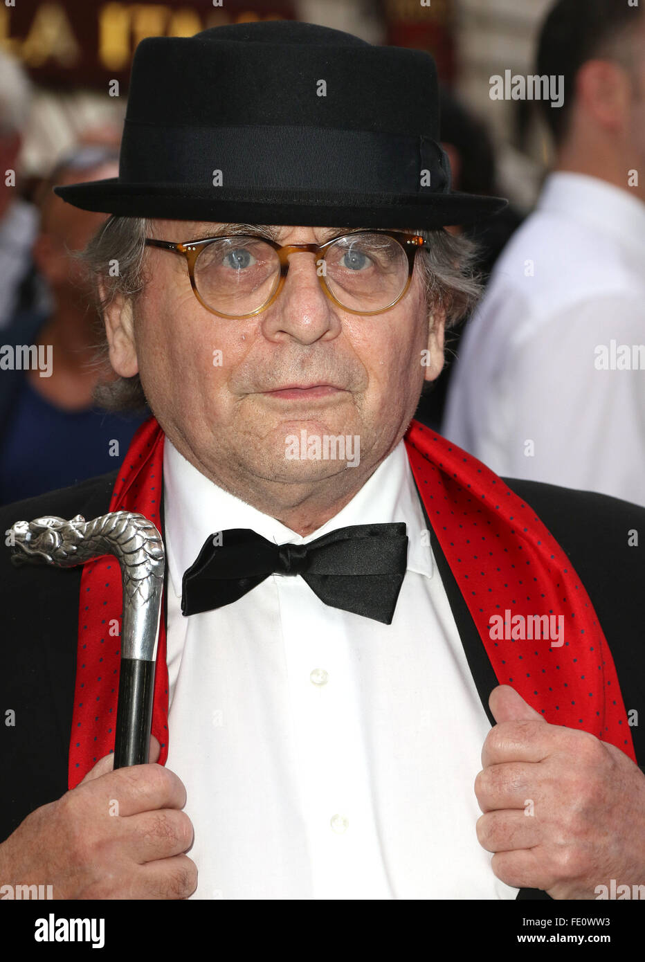 Jul 20, 2015 - London, England, UK - Sylvester McCoy attending Frank Sinatra: The Man and His Music Press Night, Stock Photo