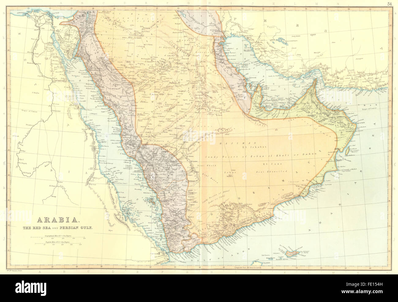 ARABIA RED SEA PERSIAN GULF Aden Oman Qatar UAE Saudi BLACKIE