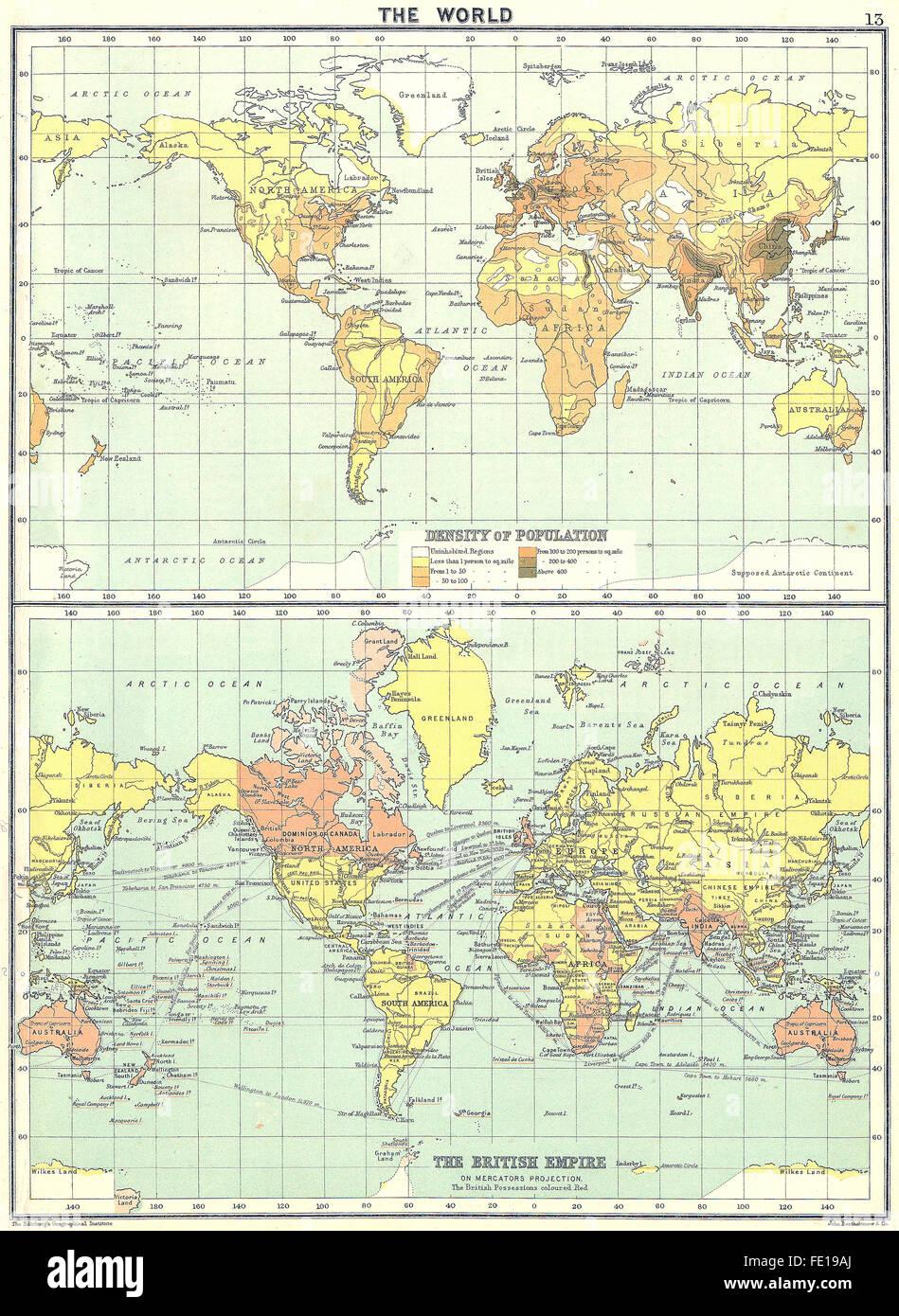British Empire Map 1900.The British Empire Map Stock Photos The British Empire Map Stock
