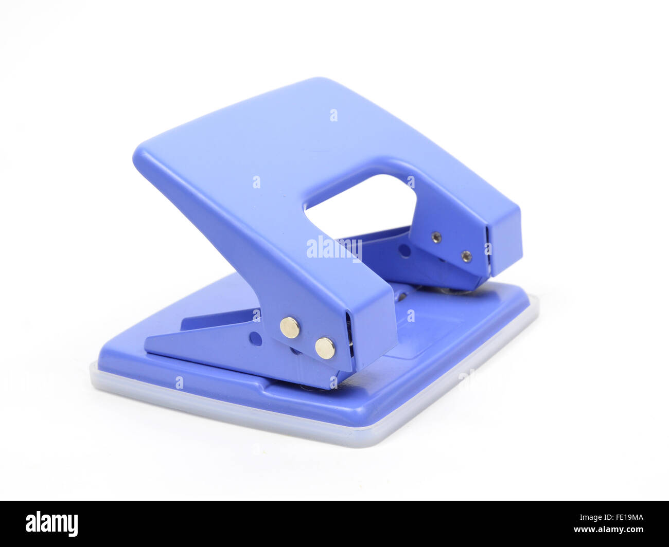 The Puncher isolate on white background - Stock Image
