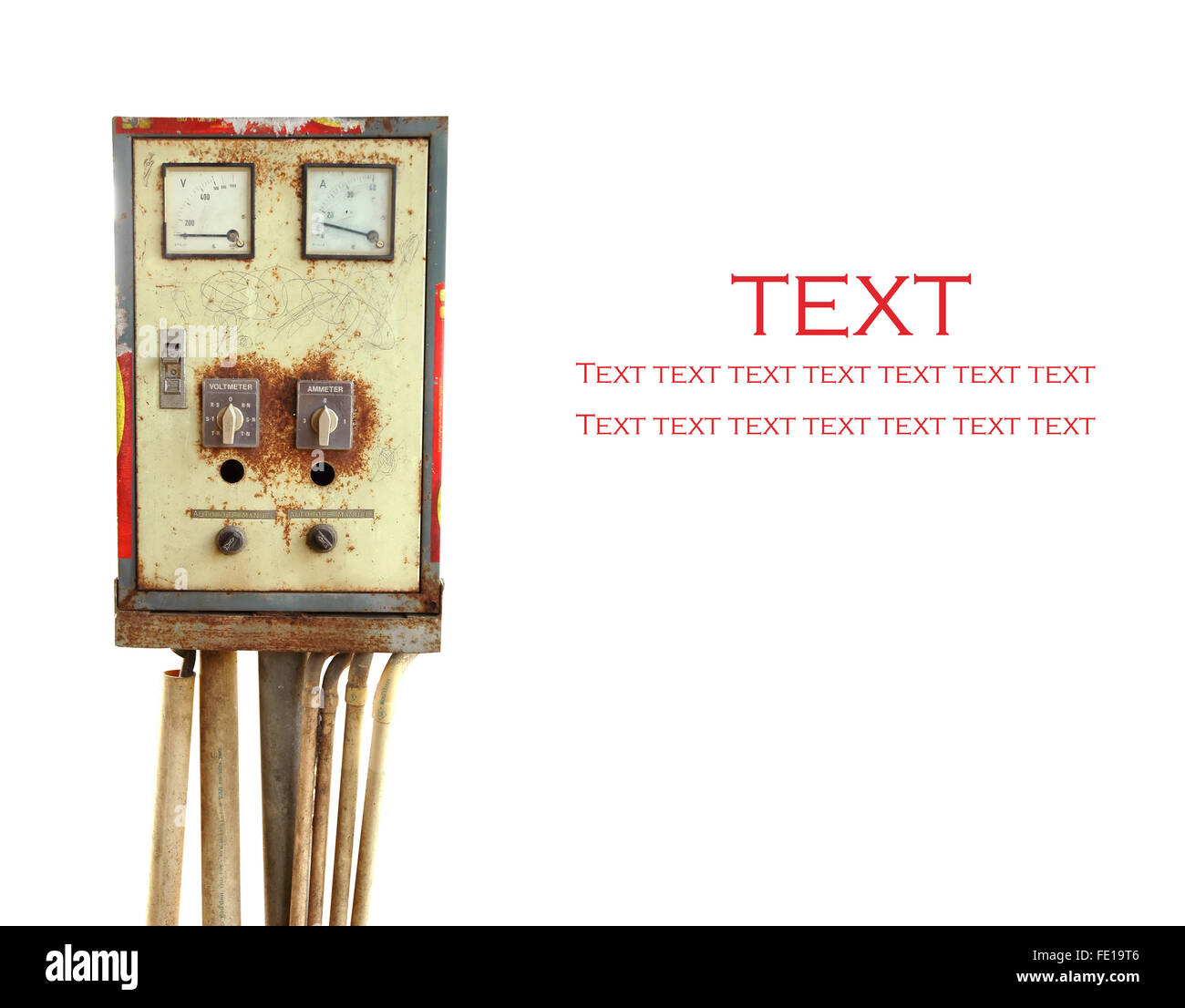 Ammeter Stock Photos Images Alamy Amp Meter Circuit Control Panel Isolated Image