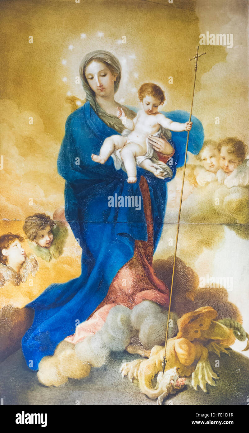 Immaculate conception, Stefano Pozzi - Stock Image