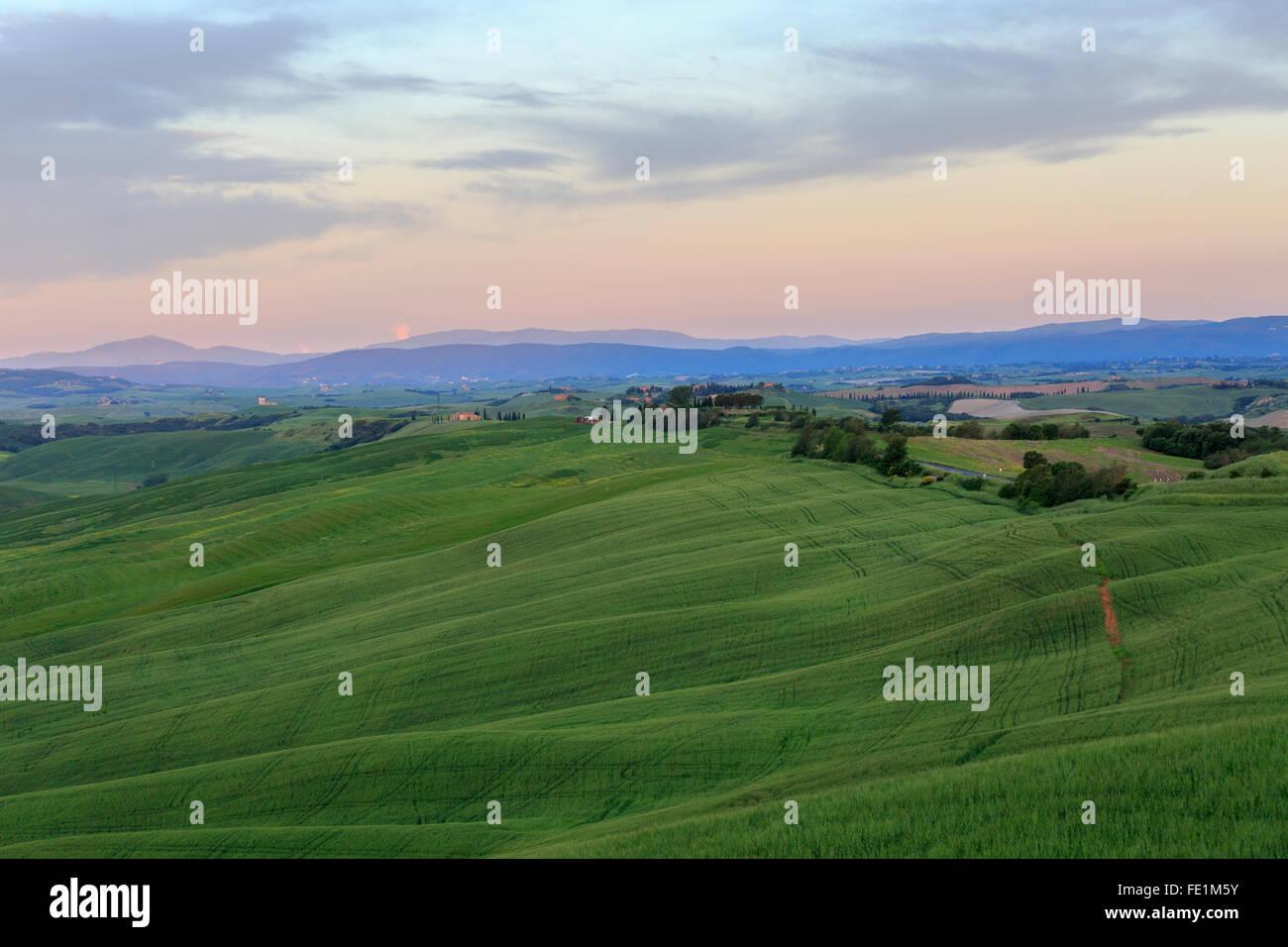 Crete Senesi, Tuscany, Italy Stock Photo