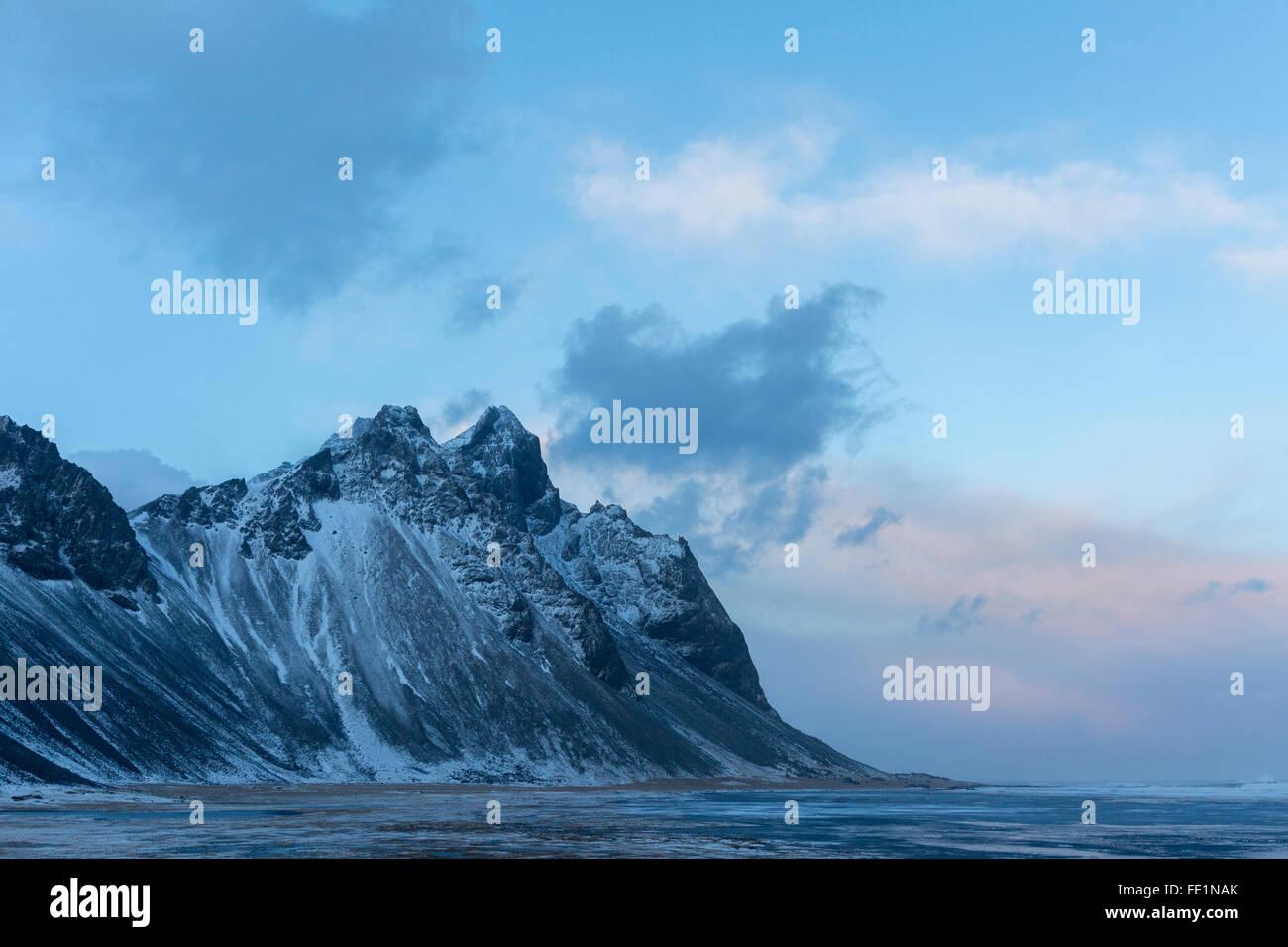 Mount Vestrahorn, Stokksnes, Iceland - Stock Image