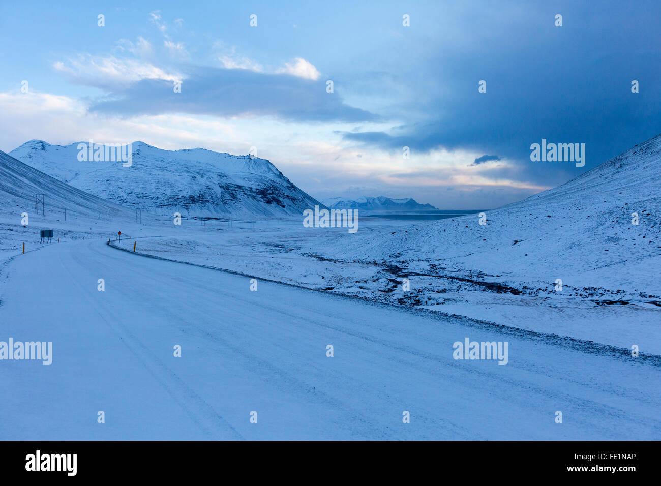Stokksnes, Iceland - Stock Image