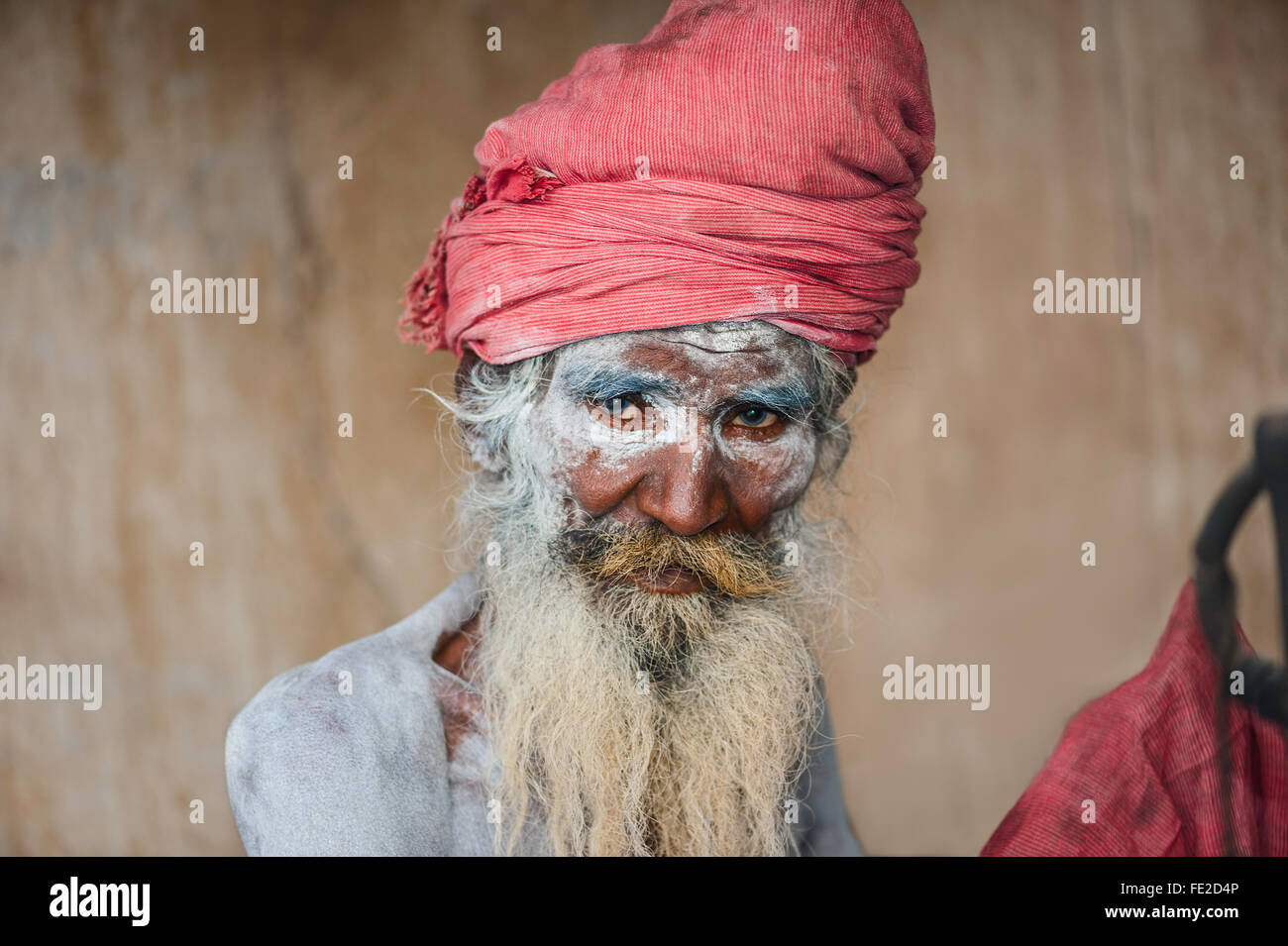 Arresting Sadhus Portrait Photography Religious Photography: Portrait Of A Naga Sadhu, A Hindu Religious Man, On