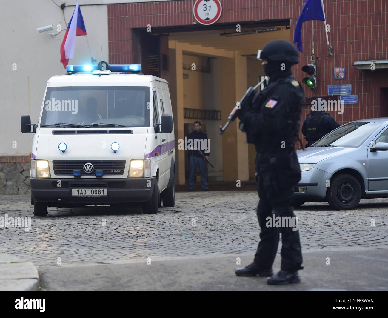 Five Czechs were released from Lebanon on condition that Prague does not extradite Lebanese Fayad to United States, Stock Photo