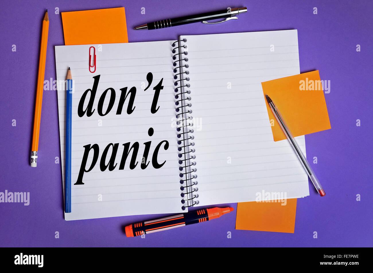 9911b4fed Dont Panic Stock Photos & Dont Panic Stock Images - Alamy