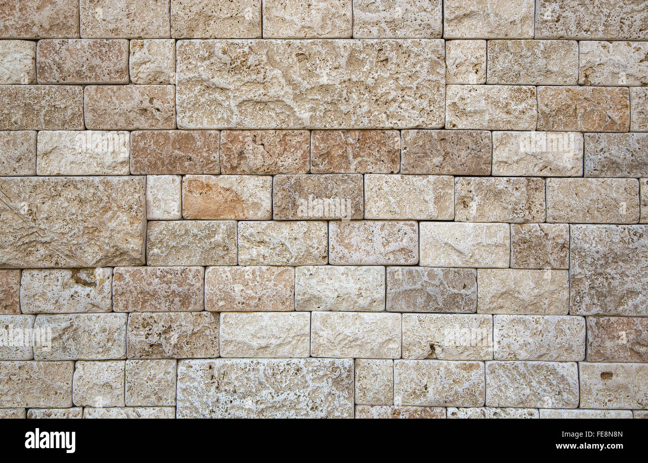 stone natural beige wall structure porous finishing alamy