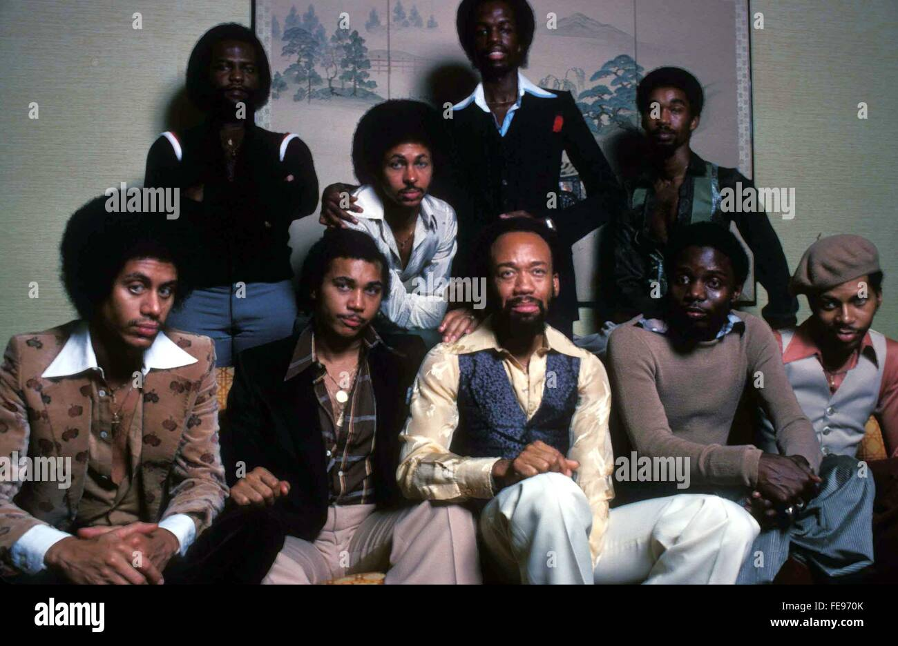 File. 4th Feb, 2016. MAURICE WHITE, Earth, Wind & Fire founder, has died at age 74 after a long battle with - Stock Image