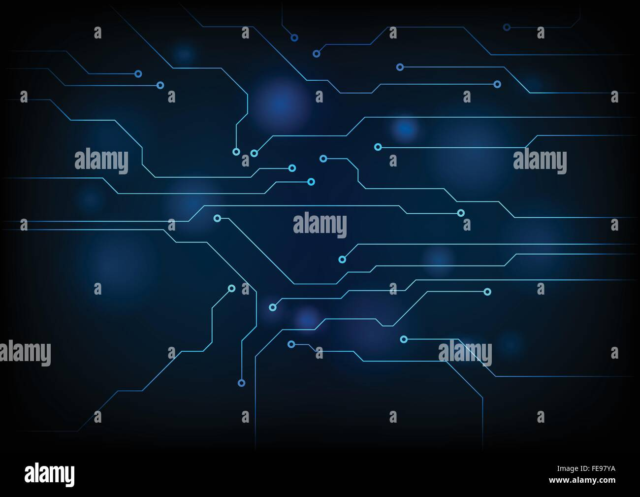 Similiar Blue Circuit Board Graphic Keywords Stock Images Image 31188634 Dark Technology Background Vector