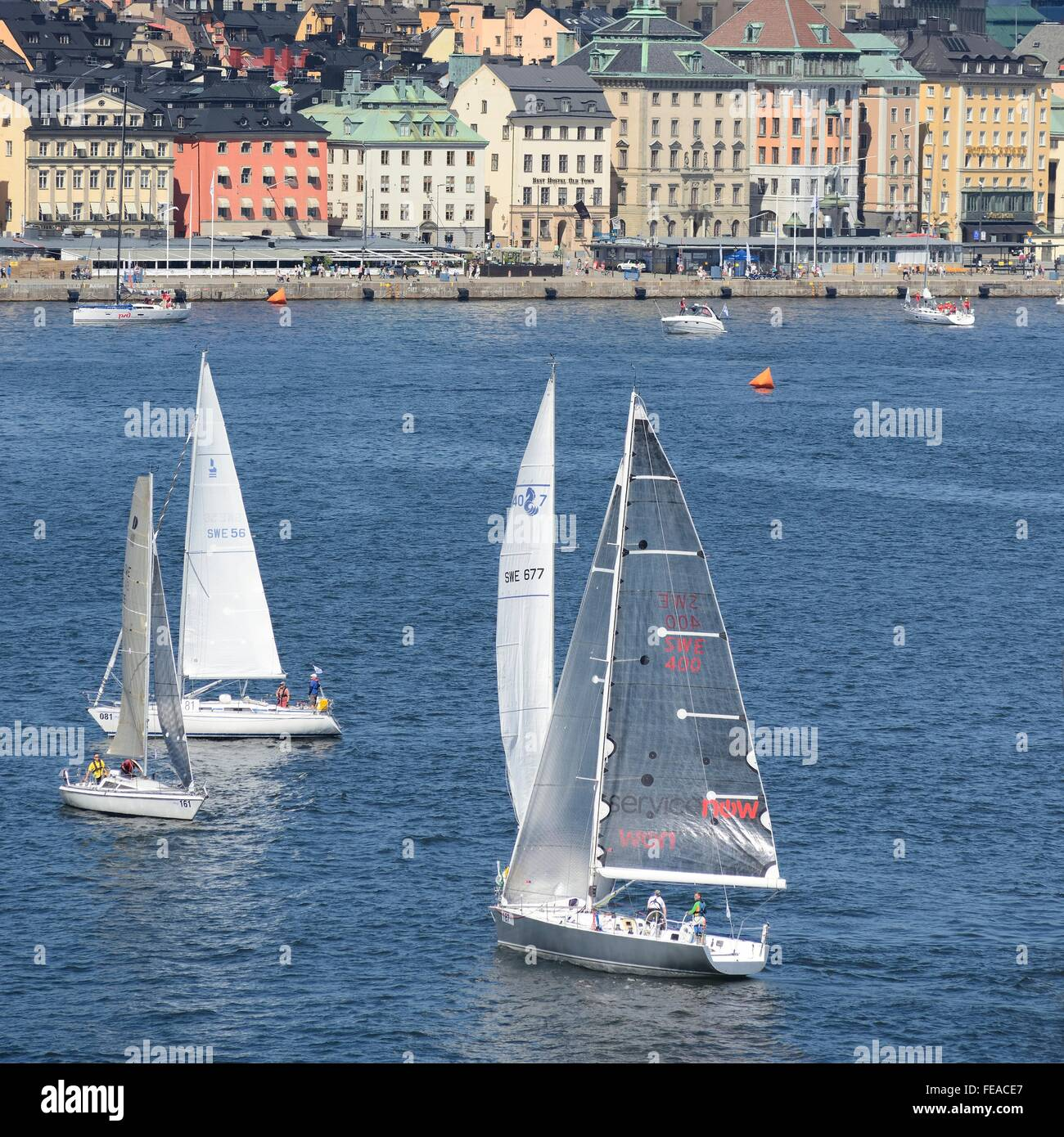 ÅF Offshore Race 2015 Stock Photo