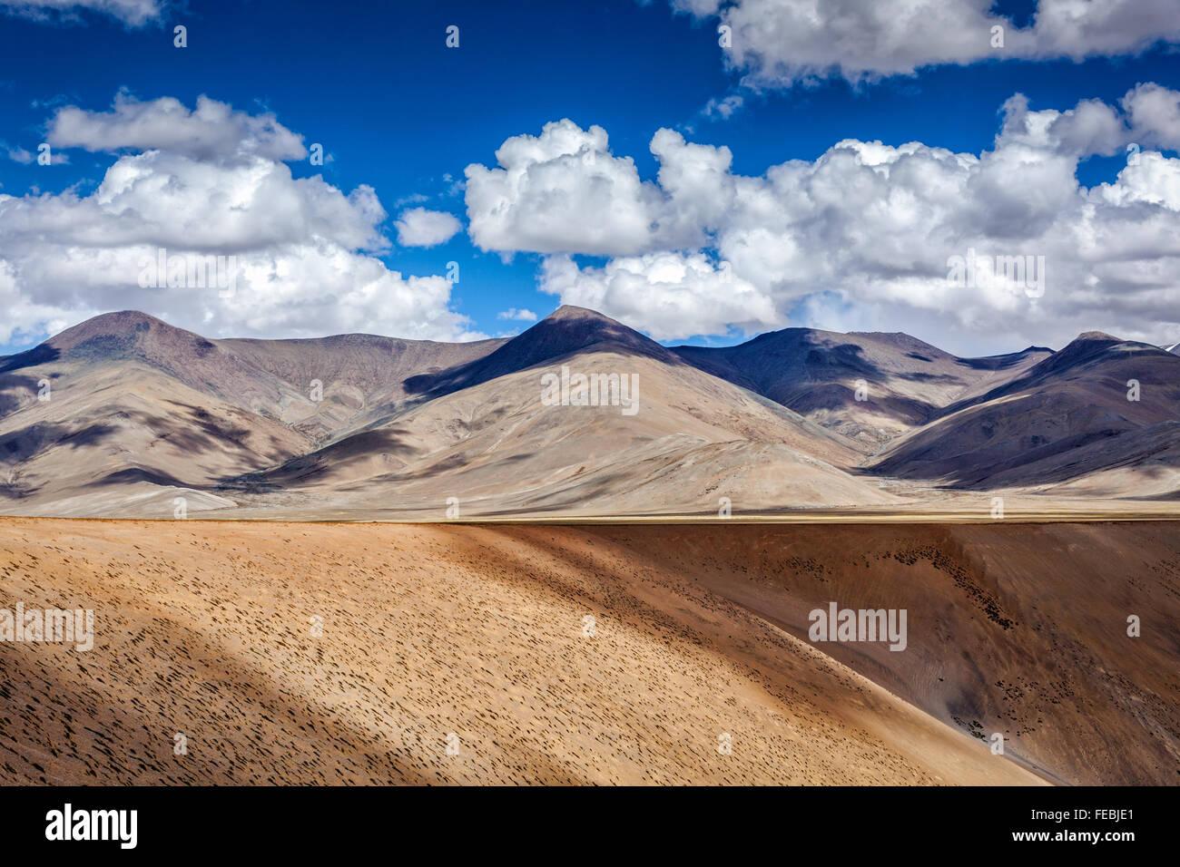 Himalayan landscape.  Ladakh, India - Stock Image