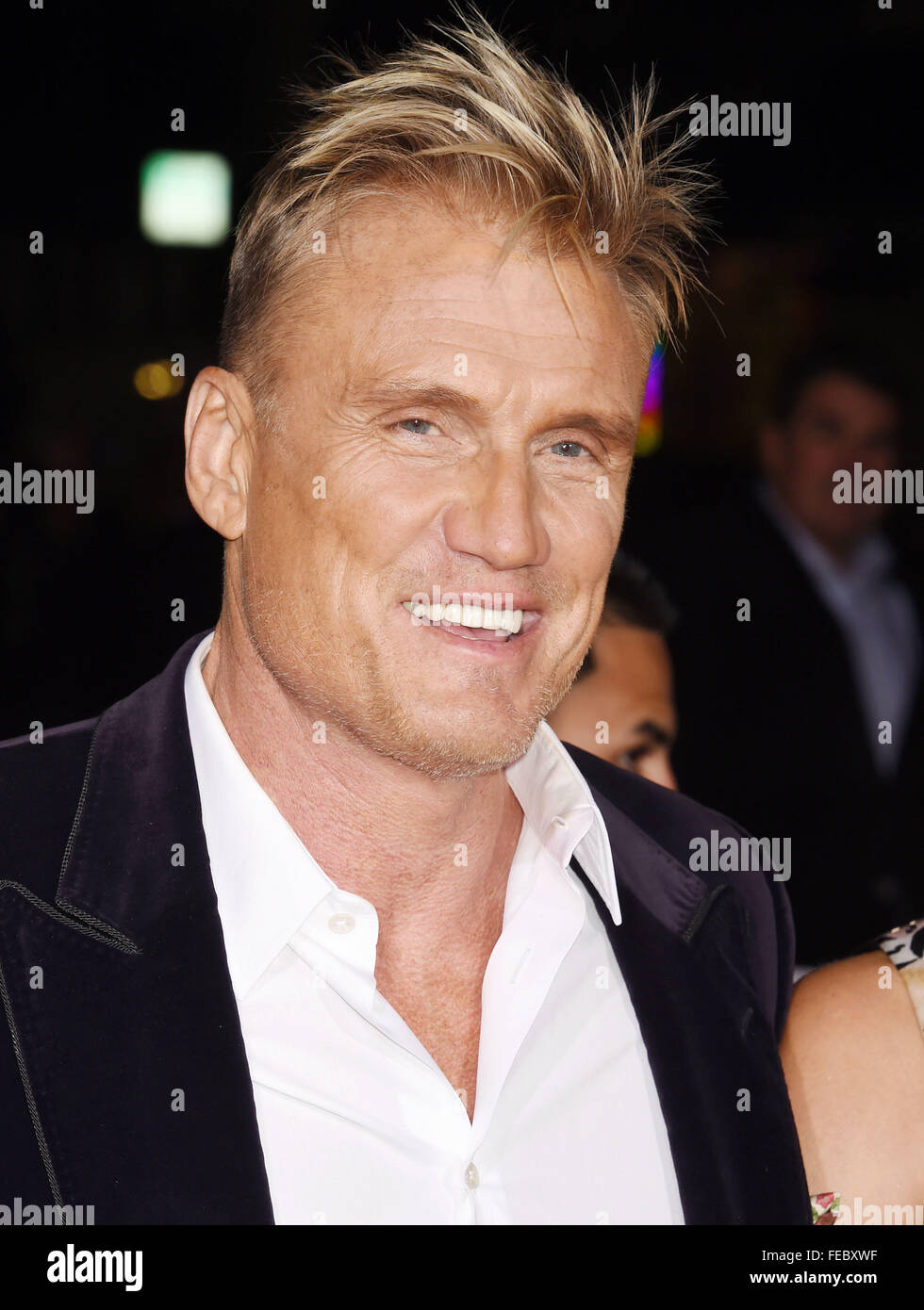 DOLPH LUNDGREN  Swedish film director and actor in February 2016. Photo Jeffrey Mayer - Stock Image