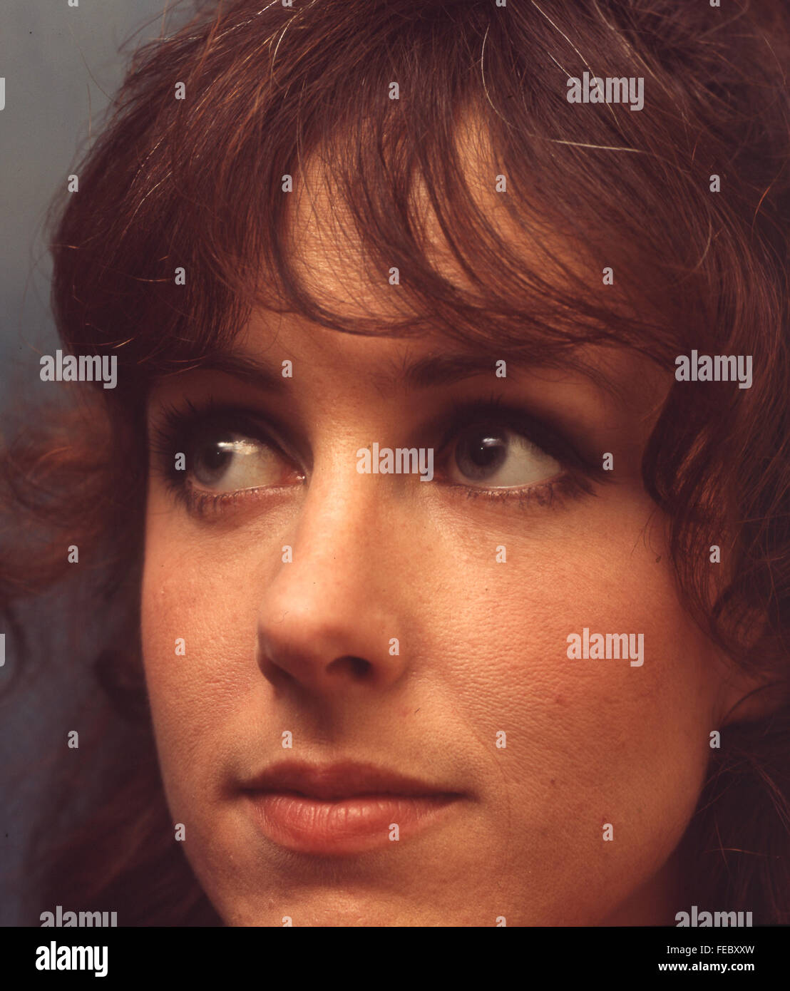 GRACE SLICK singer with Jefferson Airplane in August 1968. Photo Tony Gale - Stock Image