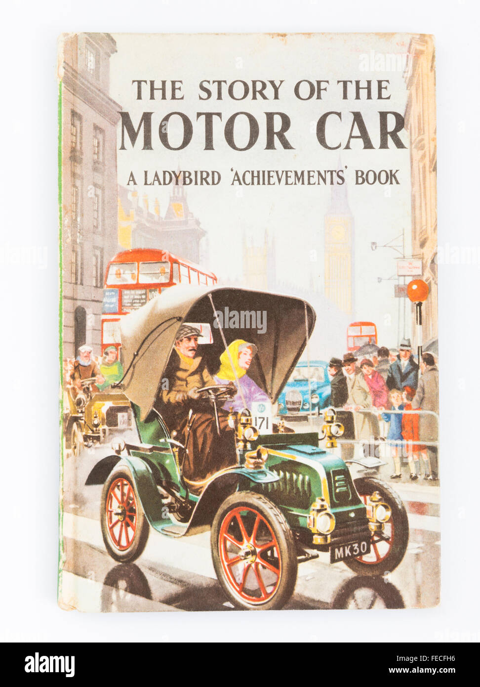 'The story of the motor car' Ladybird book - Stock Image