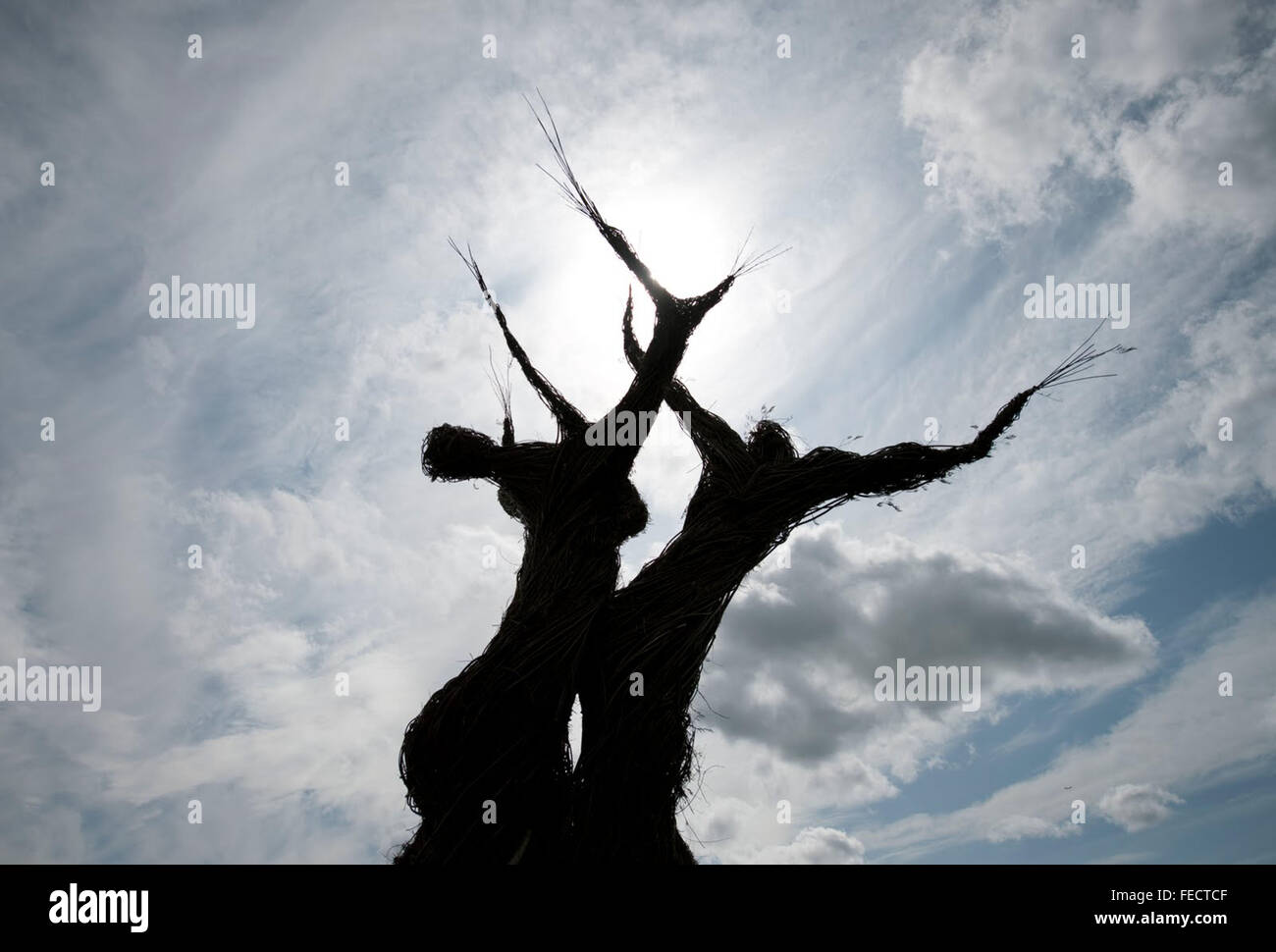 THE WICKER TREE (2011) ROBIN HARDY (DIR) MOVIESTORE COLLECTION LTD - Stock Image