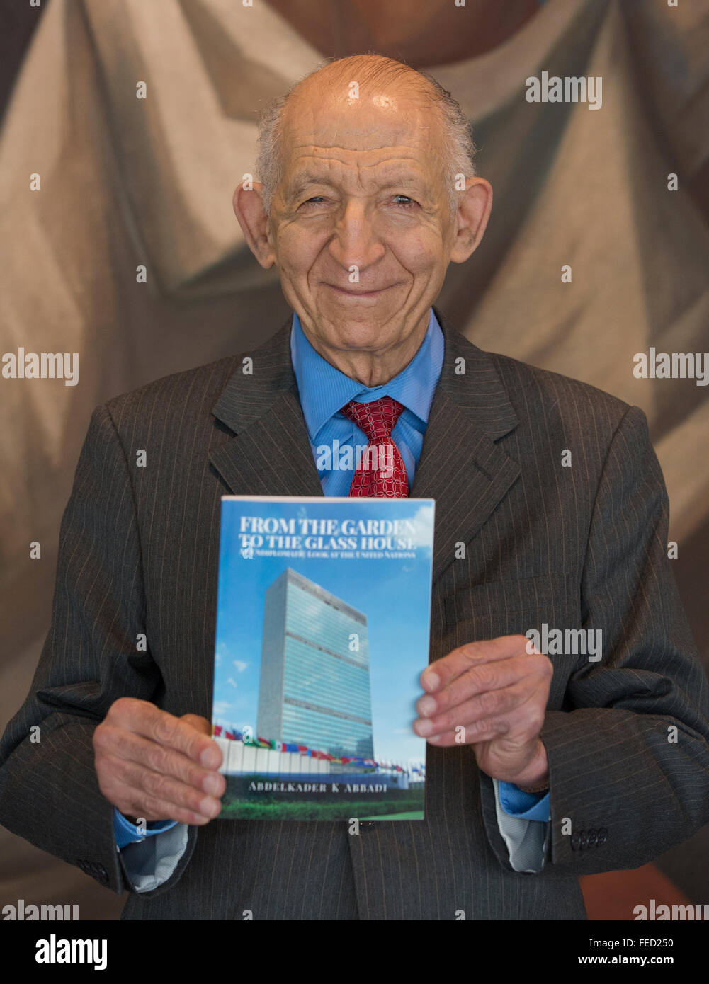 New York, United States. 04th Feb, 2016. New Book by UN Correspondent Abdelkader Abbadi - From the Garden to the - Stock Image
