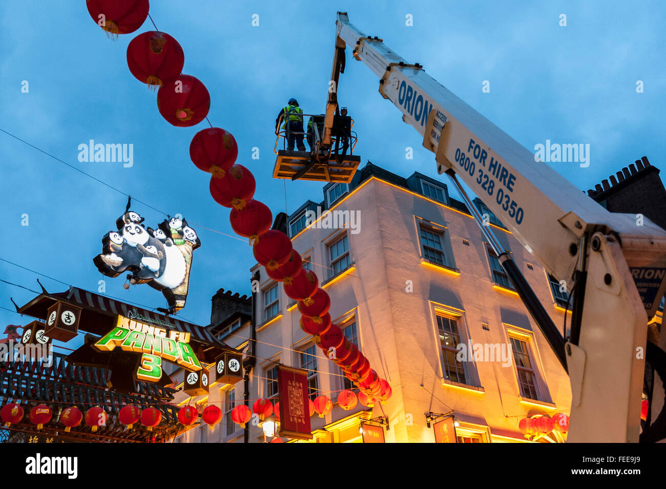 London, UK  5 February 2016  As Chinatown prepares for Chinese New