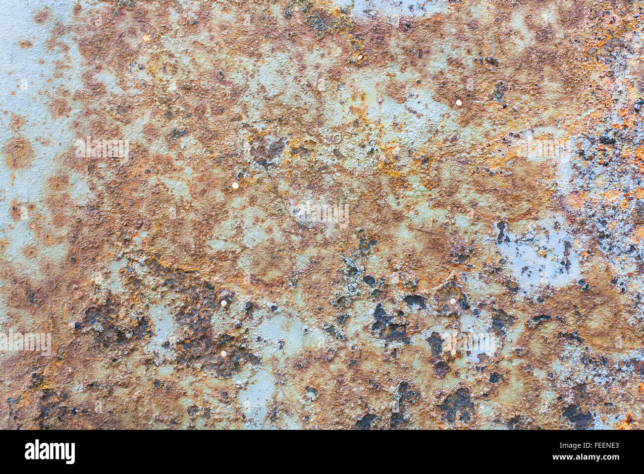 Colors and Porous Surface of Rust Stock Photo Stock Photo