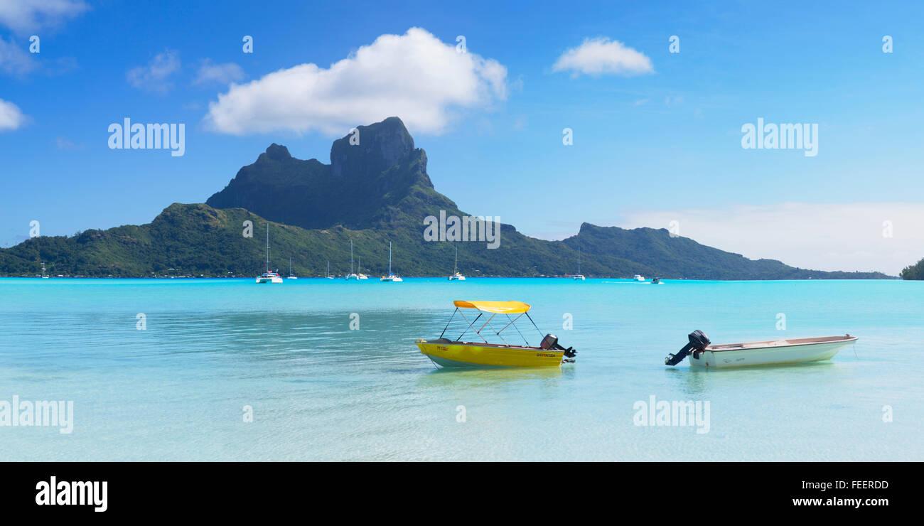 Bora Bora, Society Islands, French Polynesia - Stock Image