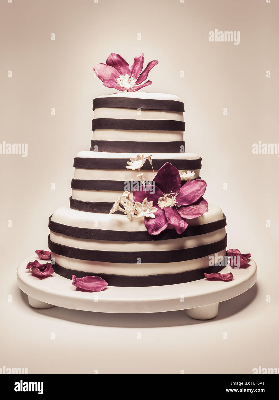 Happy Birthday Background Cake Flowers Stock Photos Happy Birthday