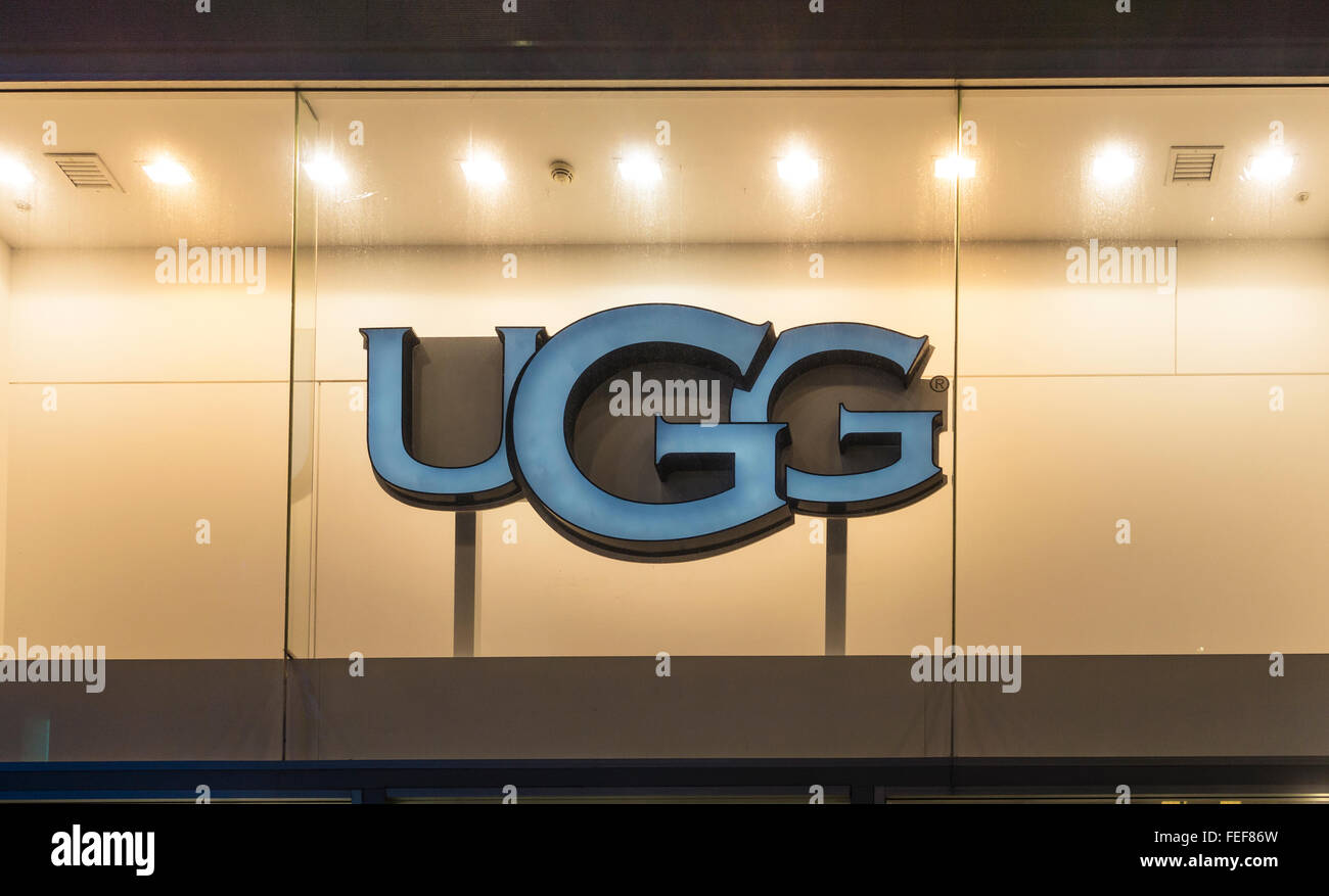 6ab0089545 UGG Store Liverpool One Shopping Centre Liverpool Lancashire Stock ...