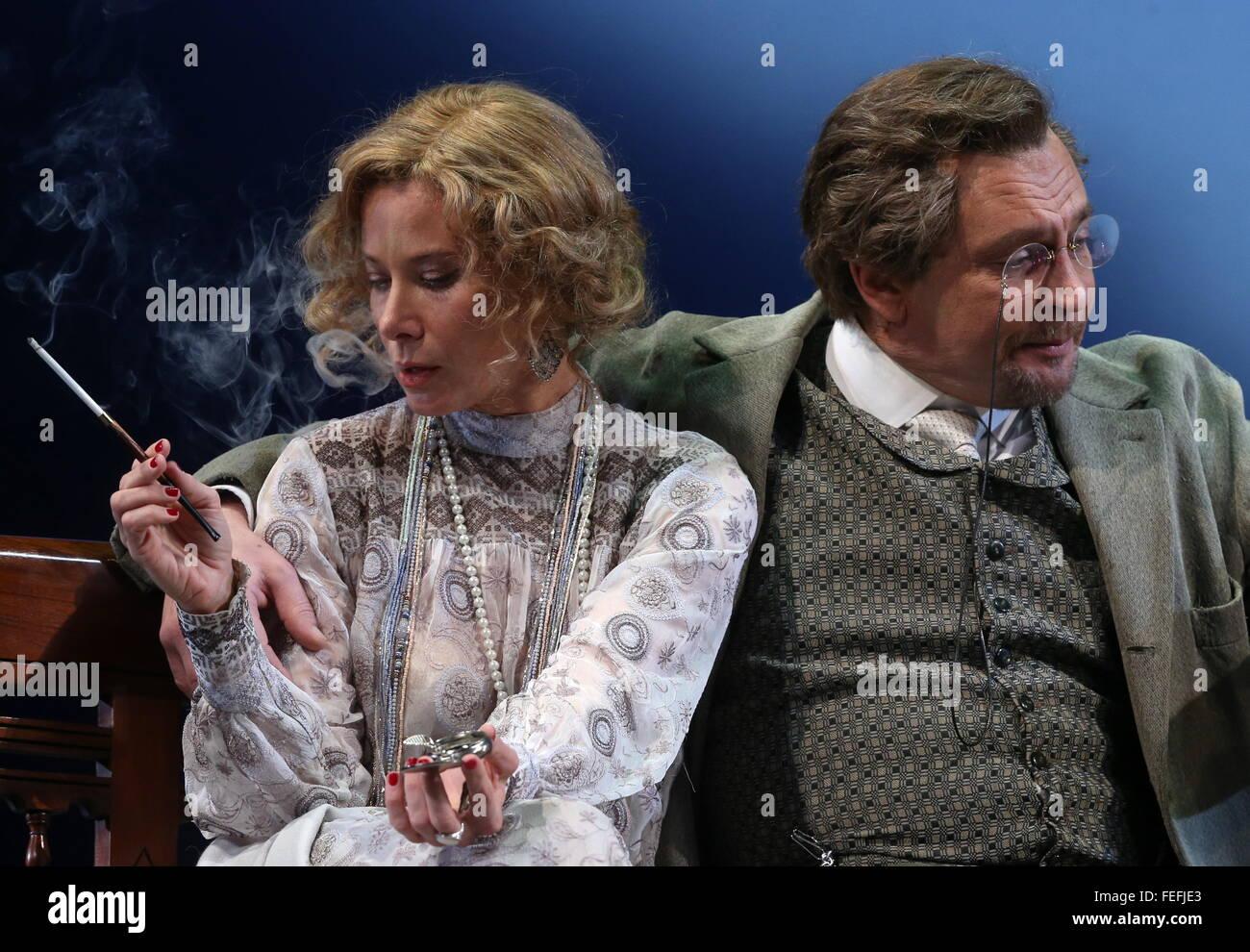 Alexander Domogarov in the company of ladies had fun at a secular party 12/10/2015