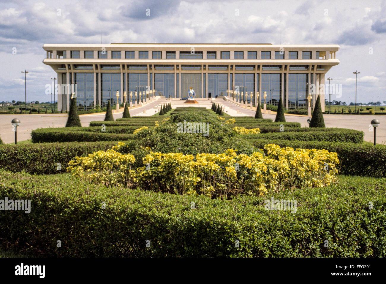 Yamoussoukro, Cote d'Ivoire, Ivory Coast.  Felix Houphouet-Boigny Peace Foundation. - Stock Image