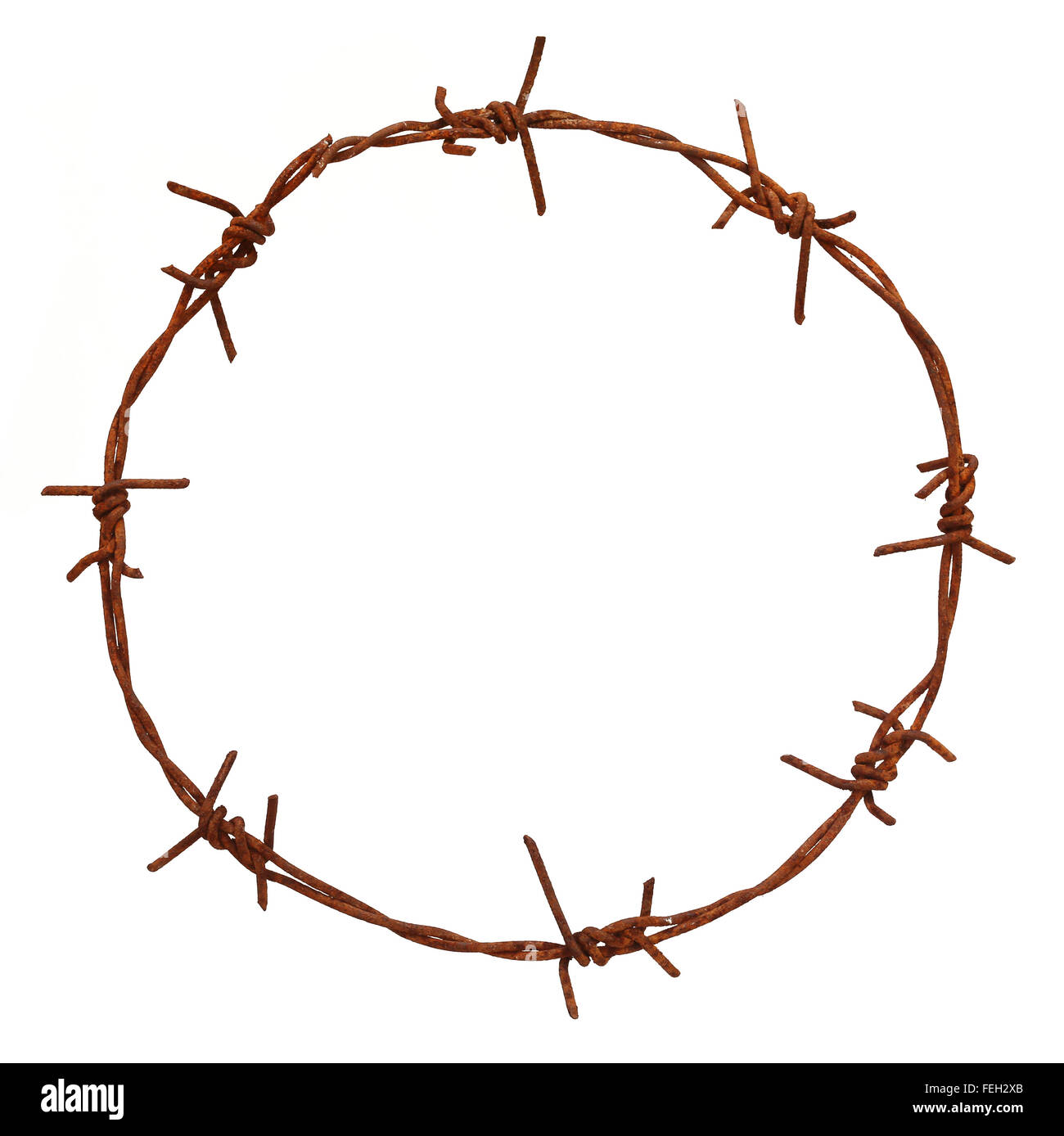 Barbed Wire Cut Out Stock Images & Pictures - Alamy