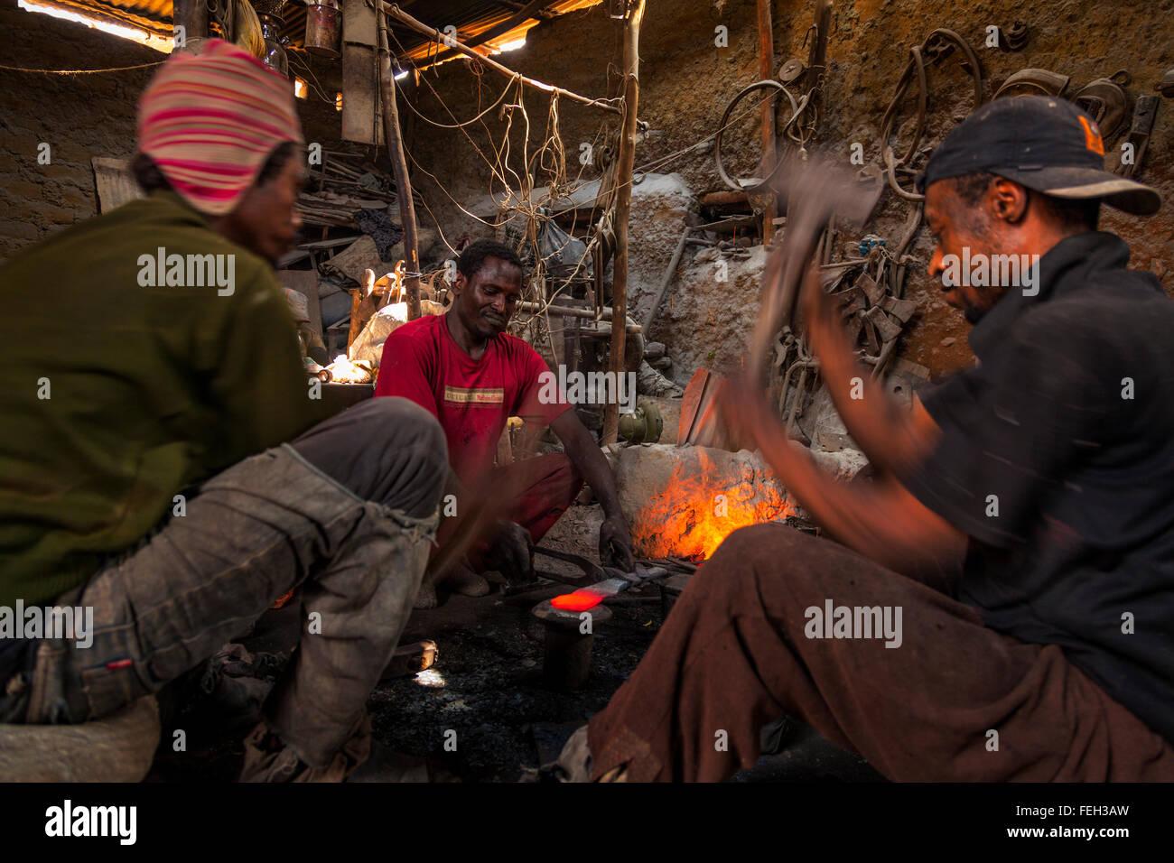 Blacksmiths At Work Stock Photos Amp Blacksmiths At Work
