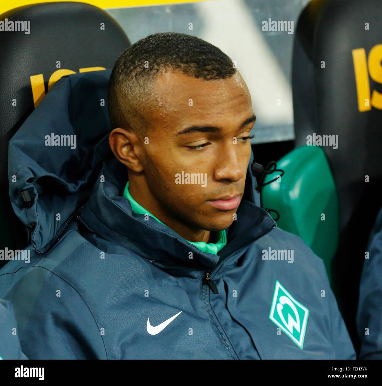 sports, football, Bundesliga, 2015/2016, Borussia Moenchengladbach versus SV Werder Bremen 5:1, Stadium Borussia - Stock Image