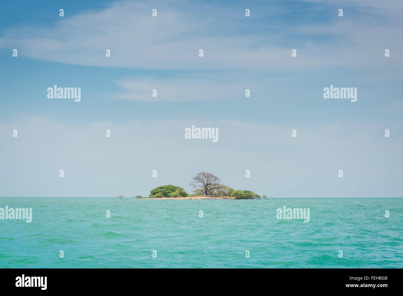 A Tiny Island In The Bijagos Archipelago Guinea Bissau