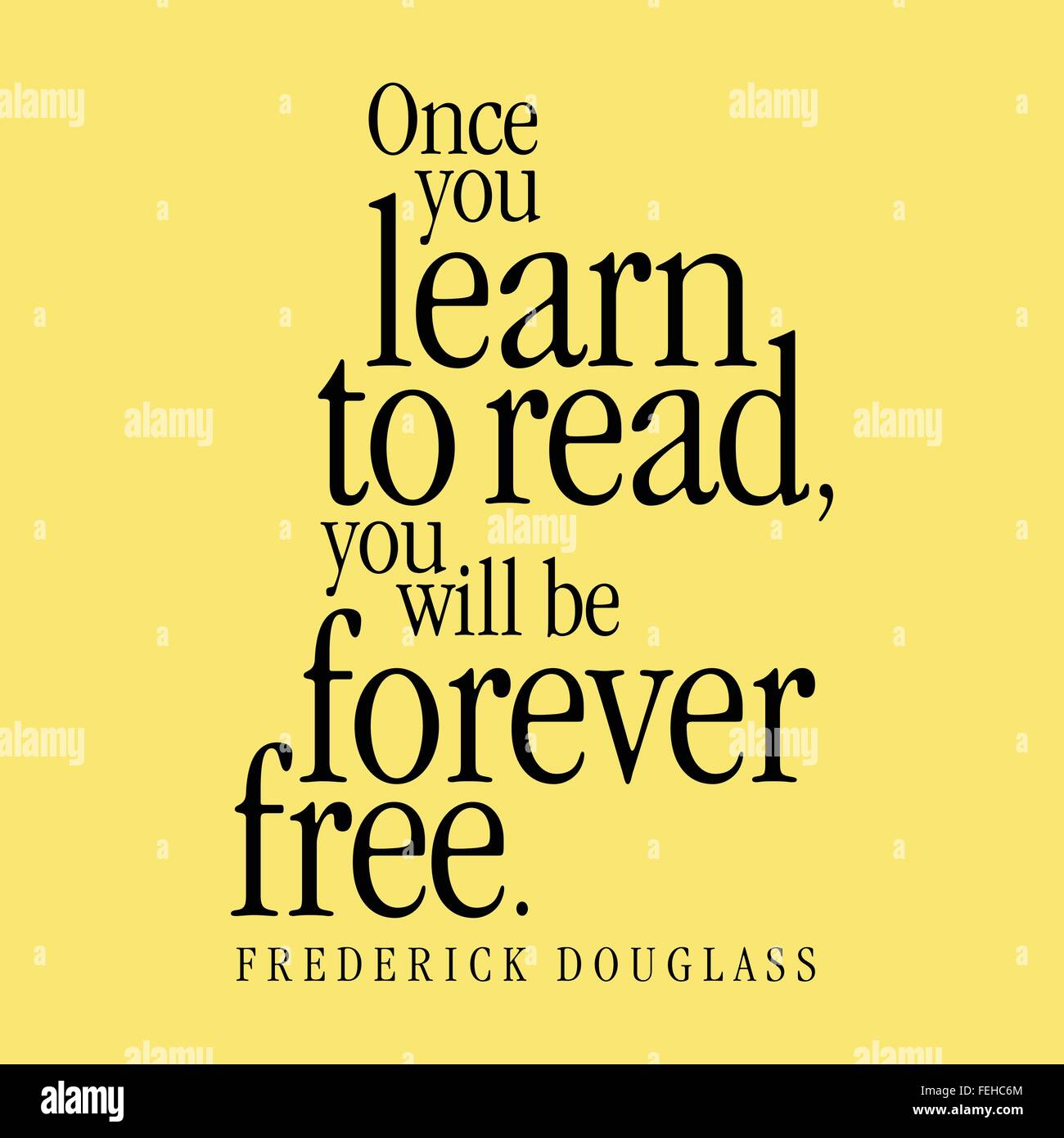 frederick douglass learning to read