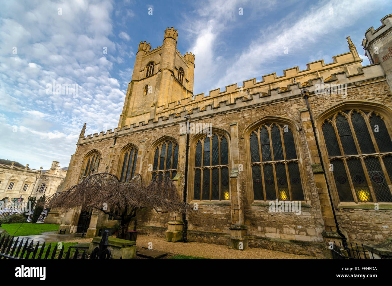Great St Mary's Church, Cambridge, UK - 1519 - Stock Image